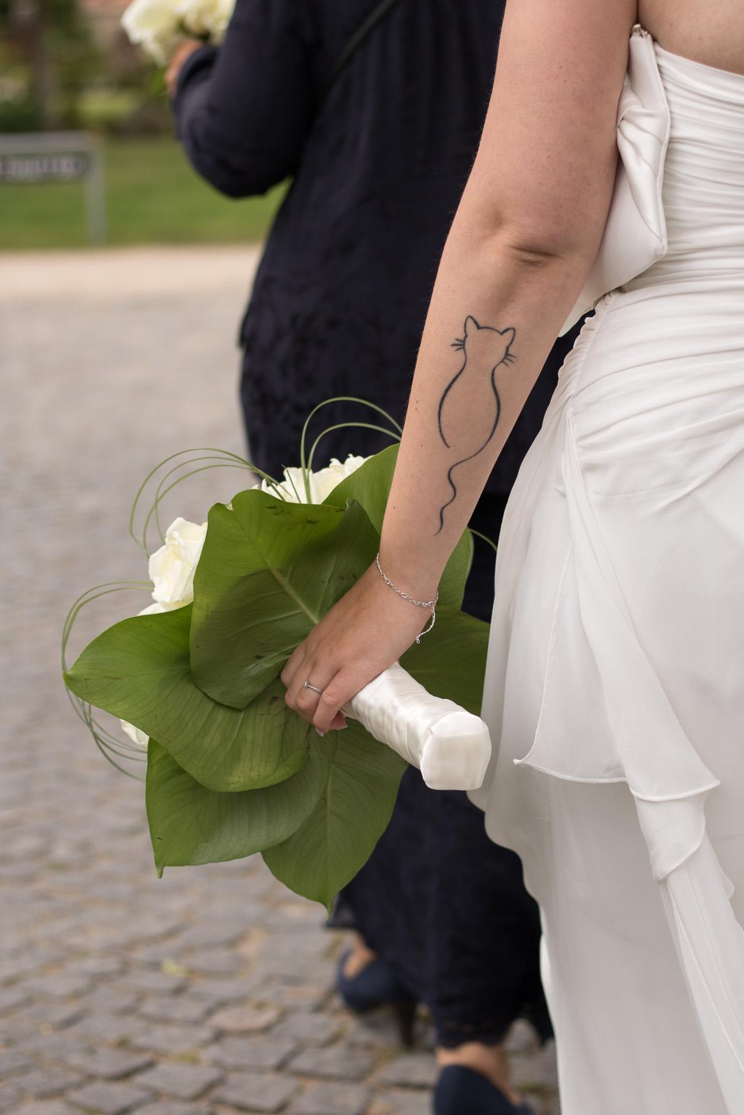 Victor og Mayas Bryllup - tatovering