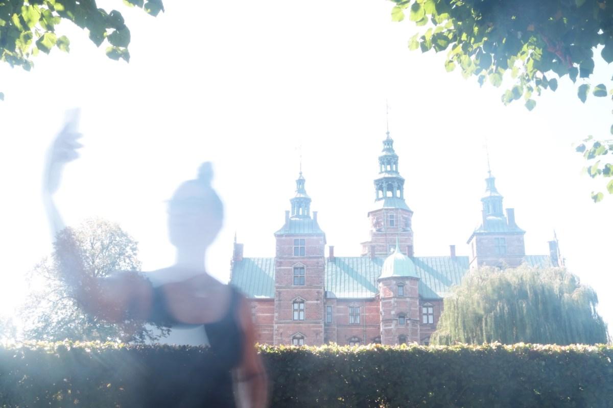 Jeg tager en selfie foran Rosenborg