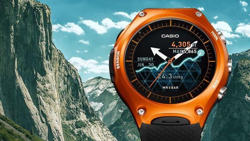 Casio vuelve con un smartwatch a la altura