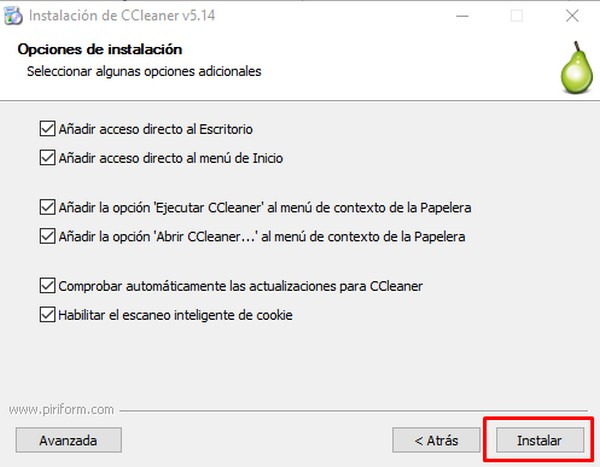 Cómo instalar CCleaner e