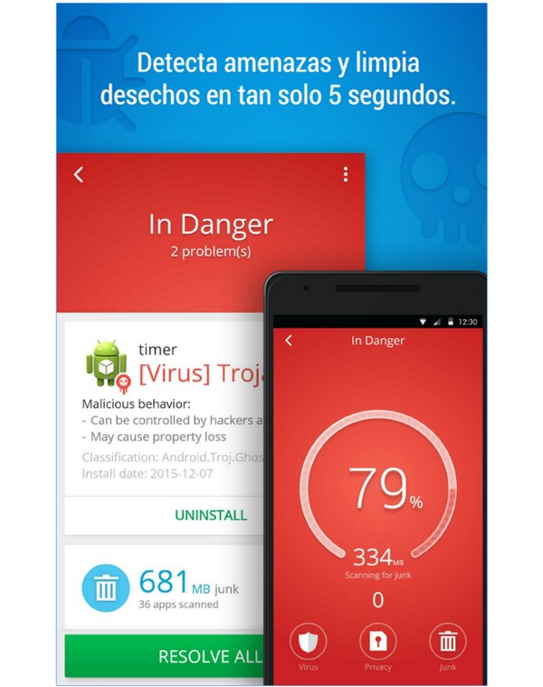 Descargar CM Security AppLock Antivirus para Android b