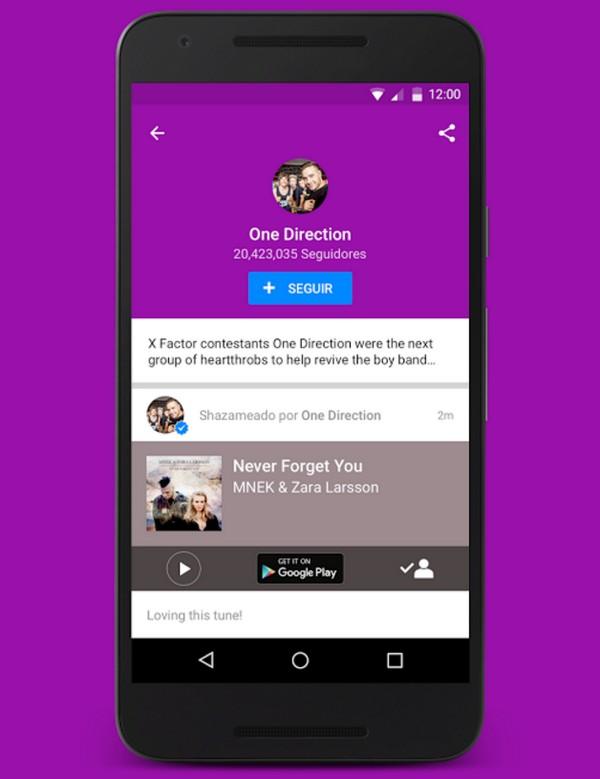 Descargar Shazam para Android c
