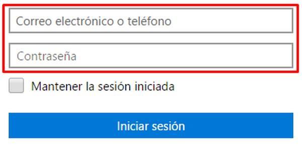 cómo iniciar sesión en el correo Outlook.com 2