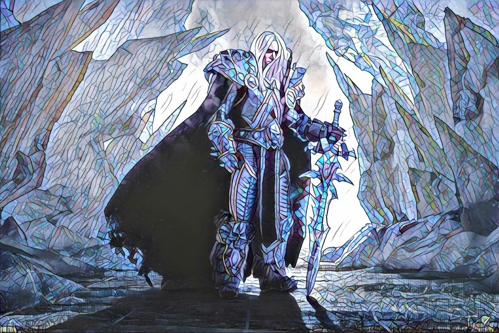 Prince Arthas Menethil Crown Prince Of Lordaeron Knight Of
