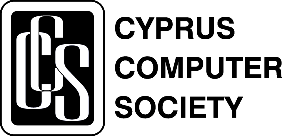 Cyprus Computer Society Logo (CCS.org.cy) in Black and White George Michael bytefreaks.net