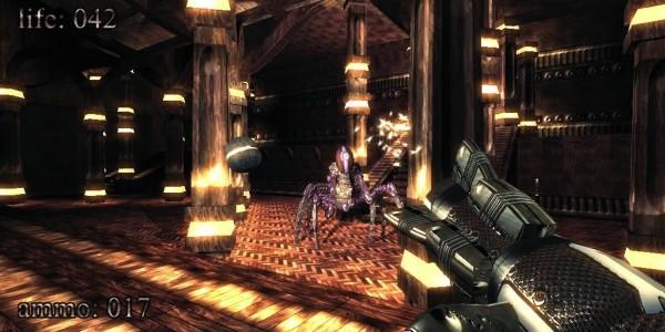 Imagen del juego .kkrieger