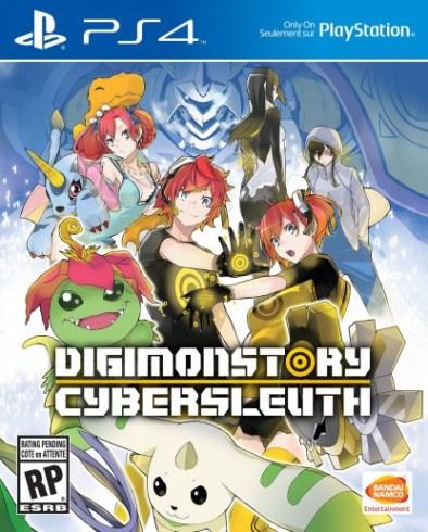 Portada para PS4 de Digimon Story; Cyber Sleuth