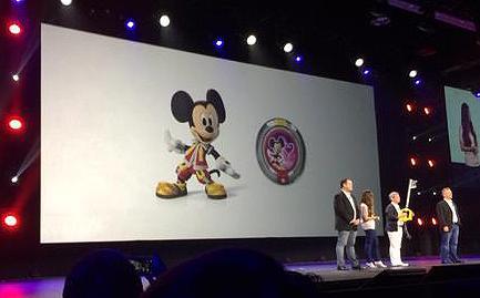 Mickey con su aspecto de KHIII en Diseny Infinity 3.0