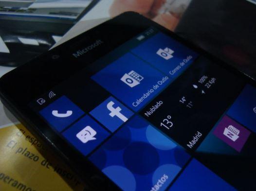Pantalla Lumia 3