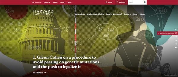 Harvard Law School website - powered by WordPress!