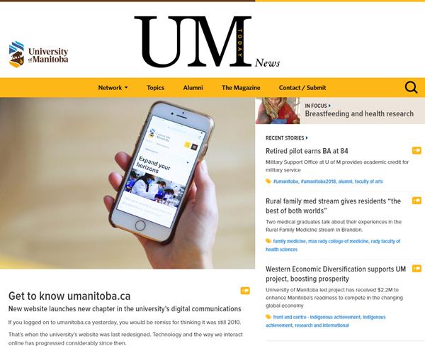 University of Manitoba News site - powered by WordPress!