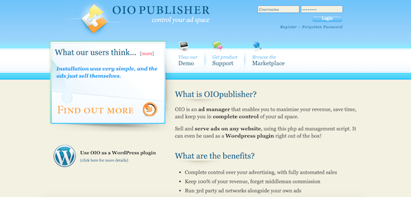 OIO publisher can be installed as a WordPress plugin