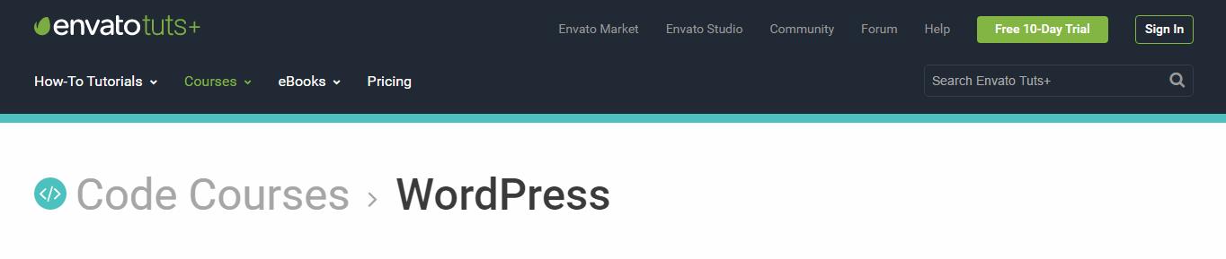 envato tuts website screenshot