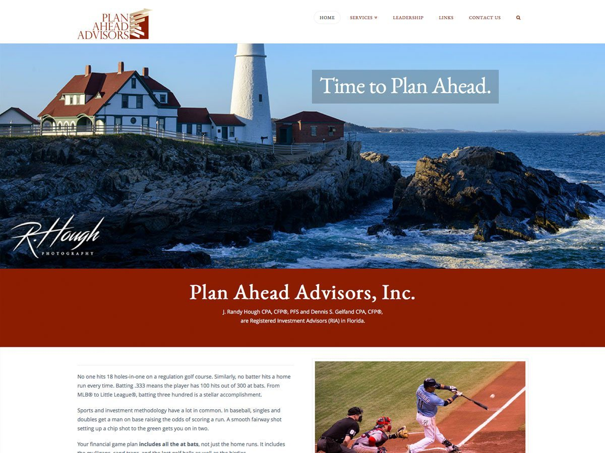 Plan Ahead Advisors