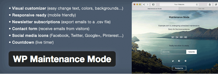 wp-maintenance-mode