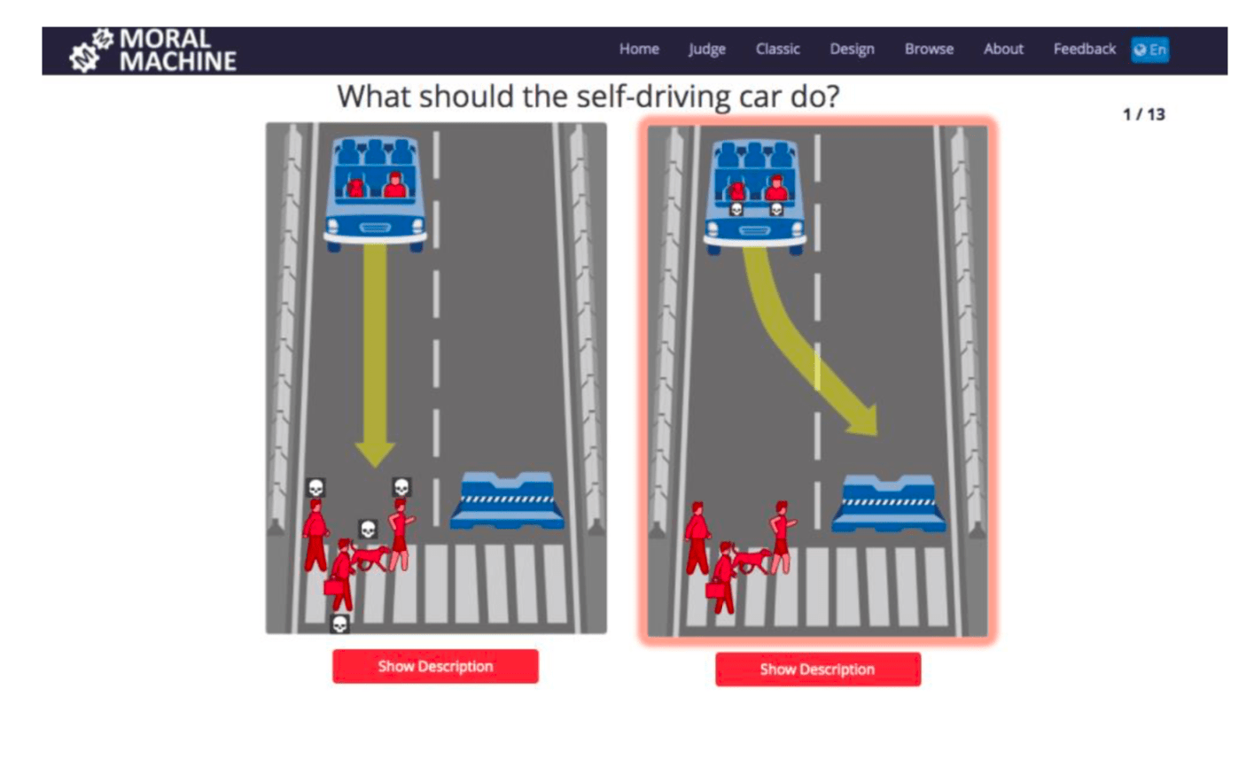 Self Driving Cars Amp Ethics The Trolley Problem