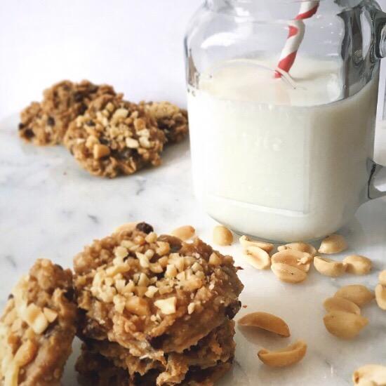 PB Banana Cookies