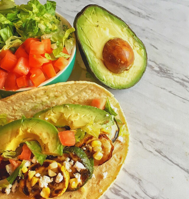 Grilled Zucchini Tacos.. perfect for vegetarians and carnivores alike!