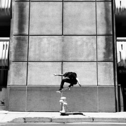 Josh's VX managed to completely crash minutes before Alex tried this Ollie. Good thing he didn't mind doing it for Super 8.
