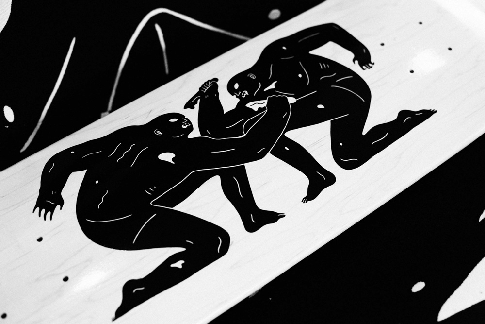 7acaba7d31 HUF x Cleon Peterson - In Killing We Live