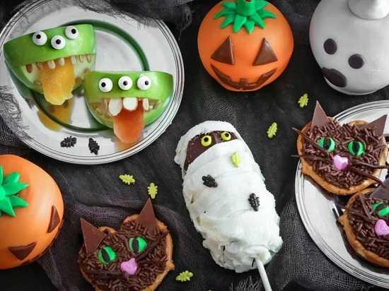 Хэллоуин Прикольные картинки фото блюд на Хеллоуин