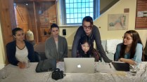 Youth Active Media and the BYTOWN MUSEUM Youth Council editing videos!