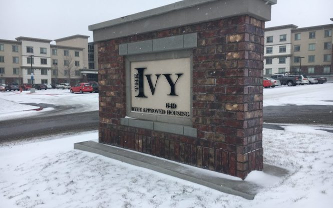 Changes In The Ivy Apartments Parking