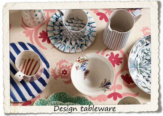 bucket list: design tableware