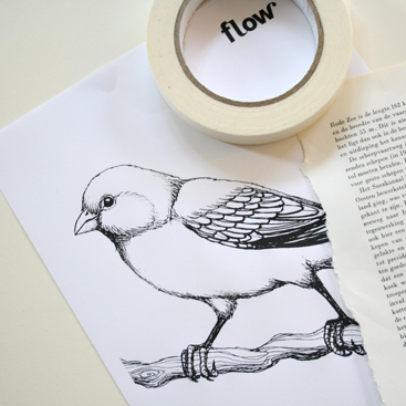 diy- how to print on bookpages 4