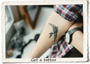 bucket list: get a tattoo