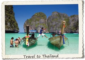 bucket list: travel to thailand