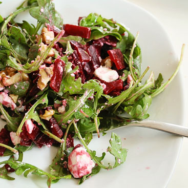 beetrood with goat cheese salad recipe small
