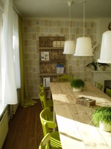 creative green interior design