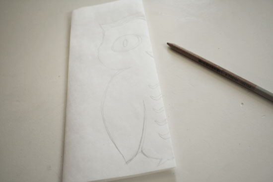 easy owl stencil diy 1