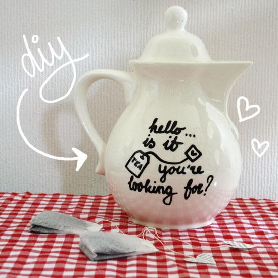 teapot diy