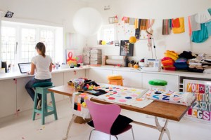 craft room inspiration color