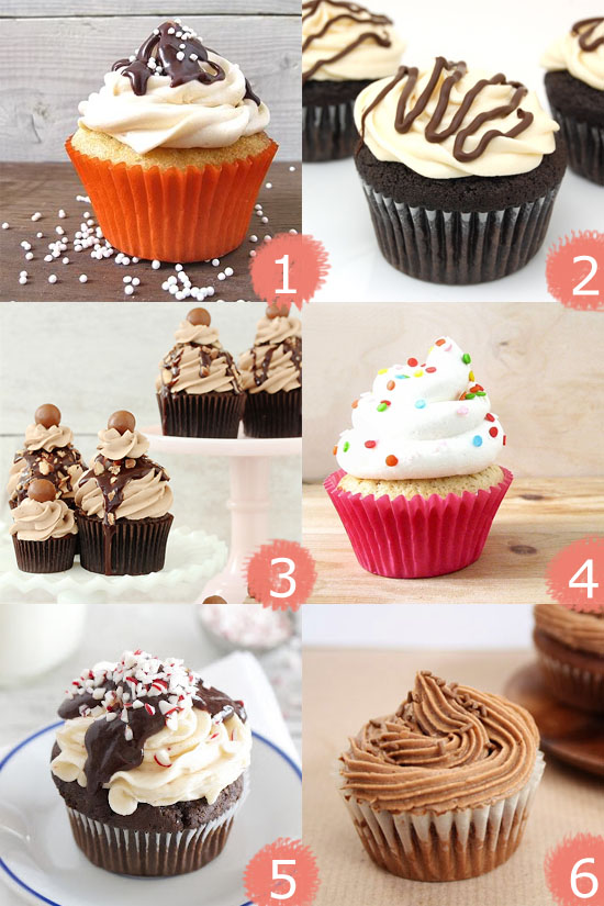 Six delicious cupcake recipes