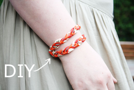DIY - Easy to make braided bracelet. @ By Wilma
