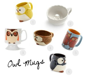 Love this - Owl mugs!