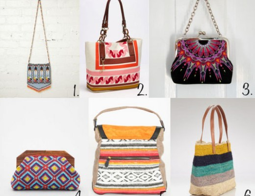 Love this - colorful bags