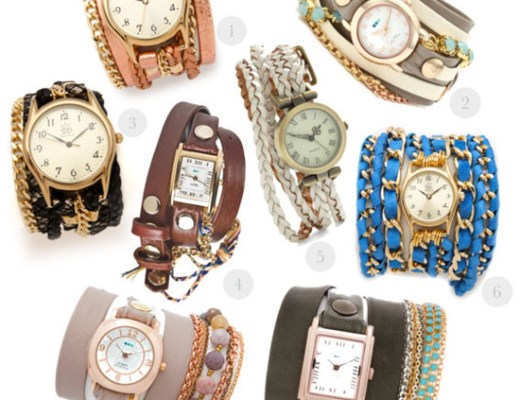 love this - wrap watches