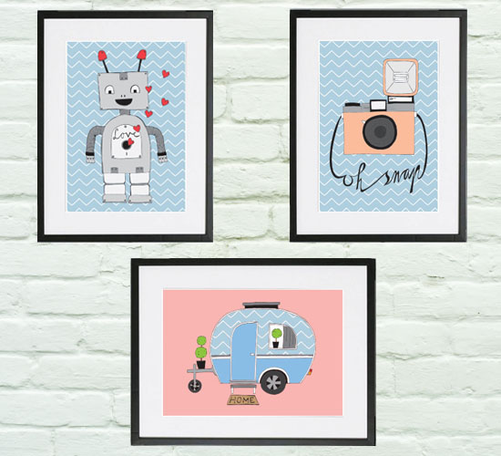 New in the shop: illustration prints!
