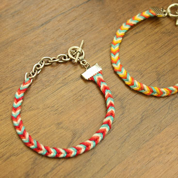 chevron friendship bracelet nr