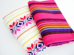 loving this Sunday: mexican fabric