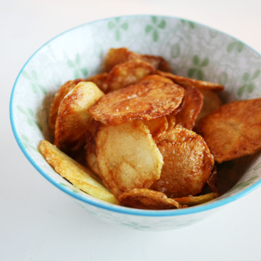 Recipe: homemade potato chips