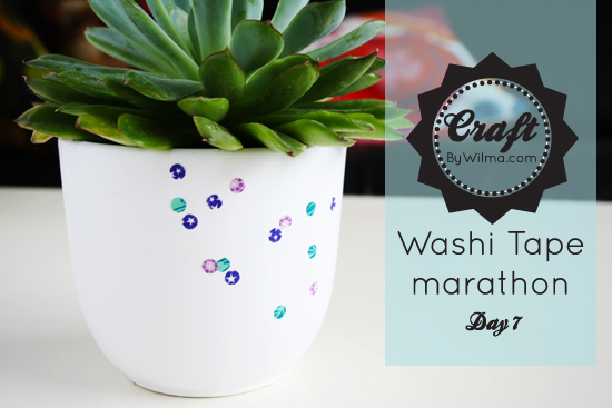 Day 7 of my 10 day washi tape marathon: DIY washi tape confetti!