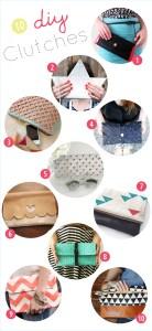 10 diy clutches