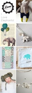 I love elephants (on Etsy)!