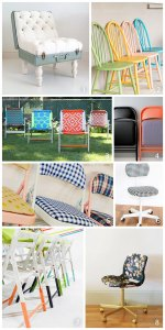 8 Ways to makeover a thrifted chair