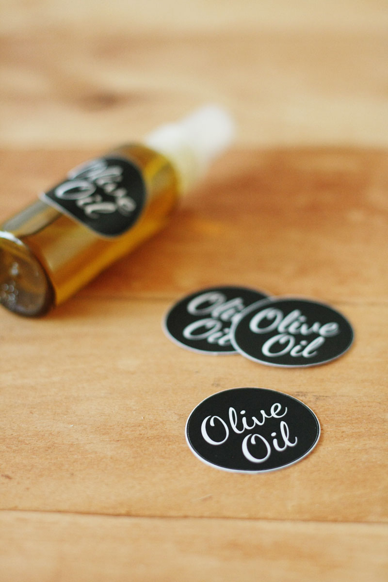 DIY - Olive oil spray bottle
